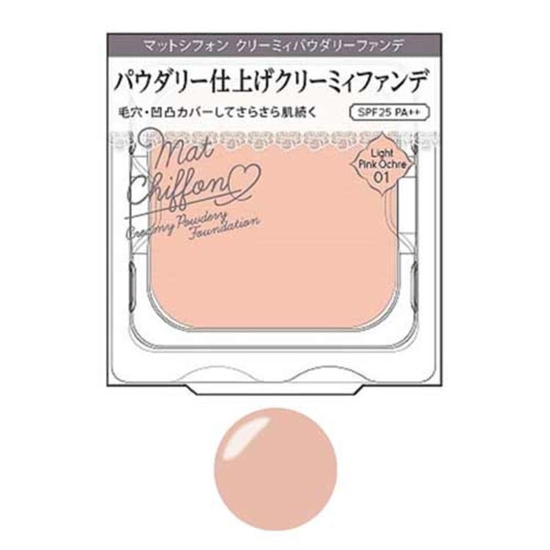 キス マットシフォン クリーミィパウダリーファンデ 01 ライトピンクオークル レフィル