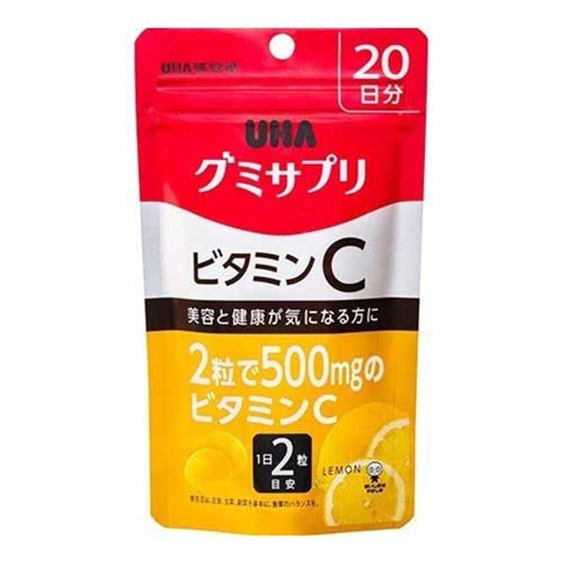 UHA グミサプリ ビタミンC 20日分