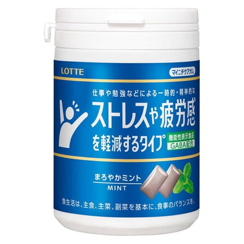 マイニチケアガム ストレスや疲労感を軽減するタイプ まろやかミント スリムボトル