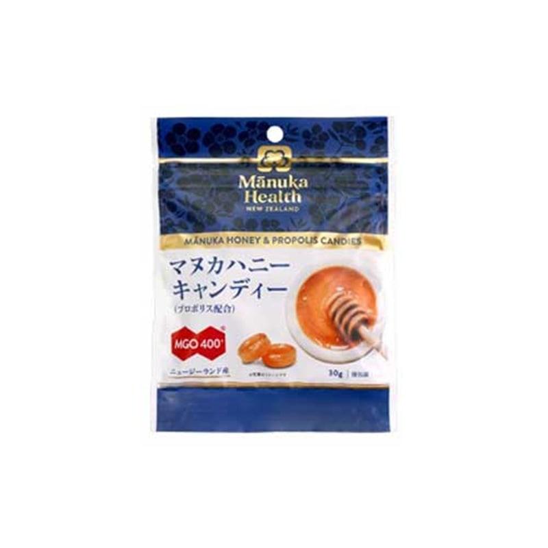 マヌカヘルス マヌカハニーキャンディ(プロポリス配合) 30g