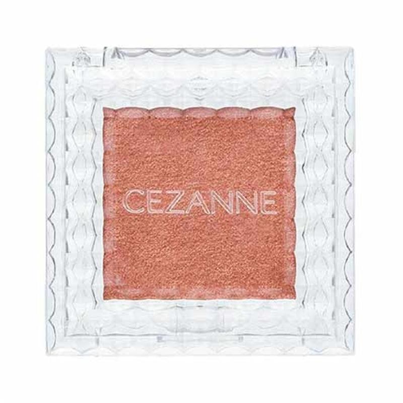 セザンヌ シングルカラーアイシャドウ 06 オレンジブラウン
