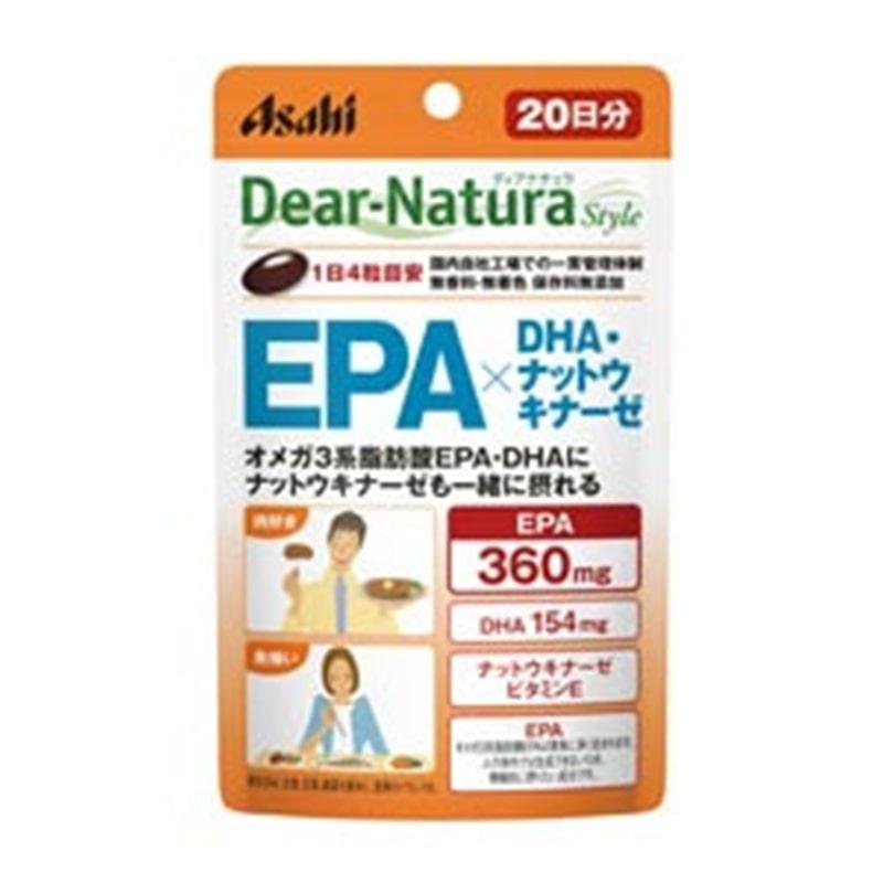 ディアナチュラスタイル EPA×DHA・ナットウキナーゼ 20日分