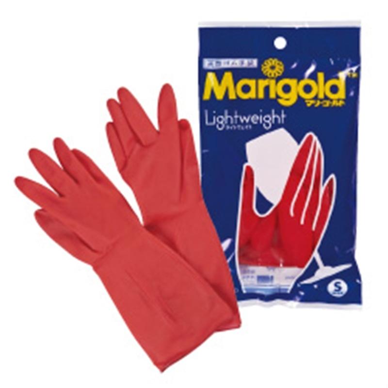 マリーゴールド ゴム手袋 Sサイズ