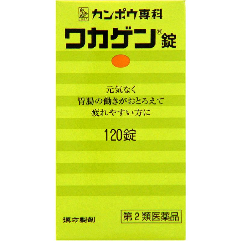 ワカゲン錠 [第二類医薬品]