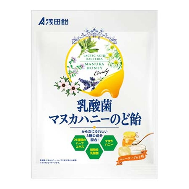 浅田飴 乳酸菌マヌカハニーのど飴