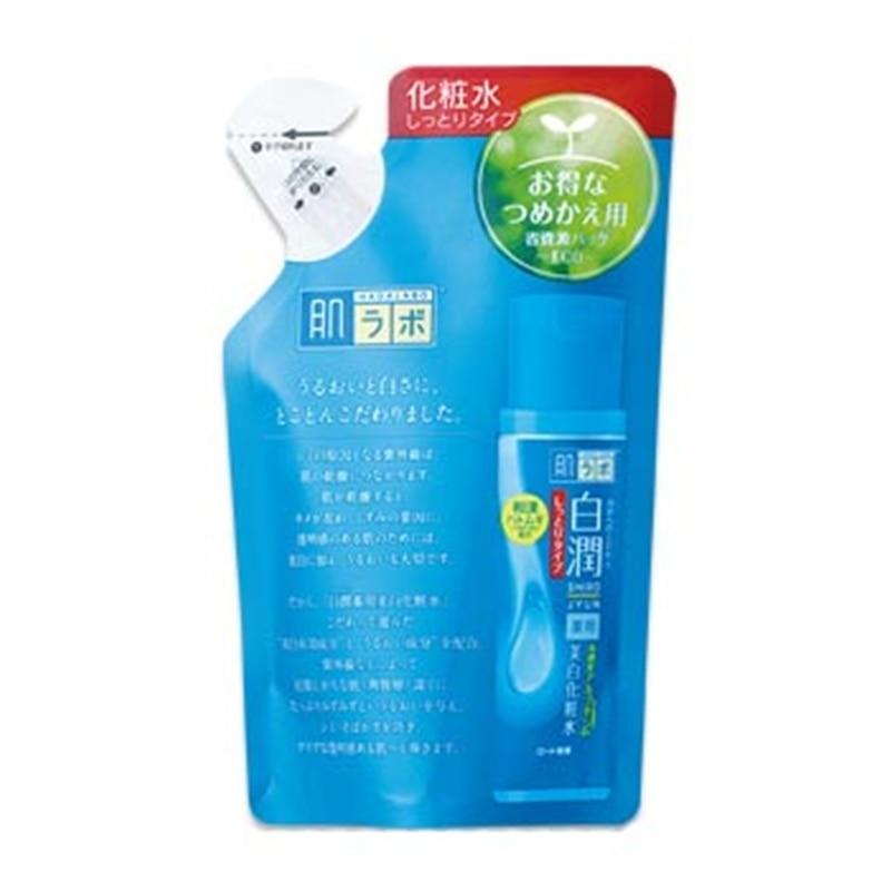 肌ラボ 白潤 薬用美白化粧水 しっとり つめかえ