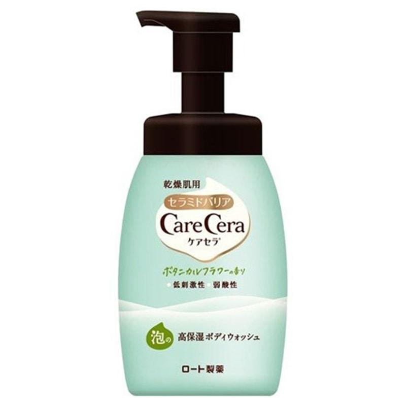 ケアセラ 泡の高保湿ボディウォッシュ ボタニカルフラワーの香り