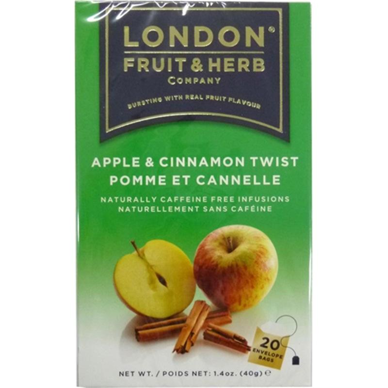 ロンドン フルーツ&ハーブ アップル&シナモンツイスト