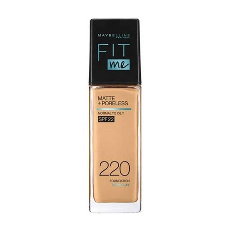 メイベリン フィットミー リキッドファンデーション R 220 健康的な肌色(イエロー系) マット