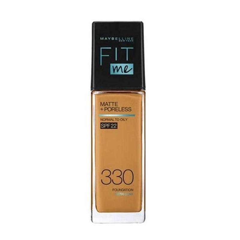 メイベリン フィットミー リキッドファンデーション R 330 健康的は肌色(イエロー系) マット