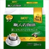 UCC 職人の珈琲 ドリップコーヒー 深いコクのスペシャルブレンド 126g(7g×18袋)