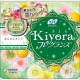 ソフィ Kiyora フレグランス Fresh 爽やかなグリーンの香り 72枚入り