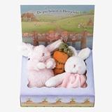 バニーズバイザベイ にぎにぎトイ 雪うさぎの赤ちゃんにんじんラトル ギフトBOXセット ピンク