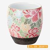 風舞花 茶湯器 有田焼 四季友禅