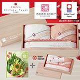 選べるギフト 鳥コース+今治謹製 至福タオル 写真入りメッセージカード(有料)込