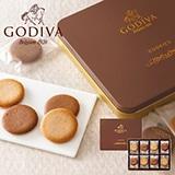 ゴディバ クッキーアソートメント32枚入 写真入りメッセージカード(有料)込