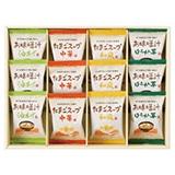 フリーズドライお味噌汁・スープ詰合せB 写真入りメッセージカード(有料)込