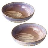 萩焼 萩の雫そらペア中鉢