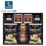 キーコーヒー ドリップコーヒー&クッキー&紅茶アソートギフトB