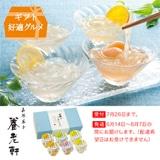 [京都養老軒] 果汁を楽しむフルーツくずきり