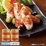 たらばがに一番脚肉缶詰 160g缶×4個
