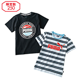プーマ ジュニアTシャツ 2枚組(140cm)