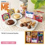 ミニオン スイーツBOX A(お名入れ) 写真入りメッセージカード(有料)込【慶事用】