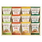 フリーズドライお味噌汁・スープ詰合せB 写真入りメッセージカード(有料)込【慶事用】
