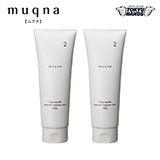 〈muqna〉 洗顔フォーム120g 2本