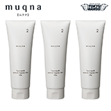 〈muqna〉 洗顔フォーム120g 3本