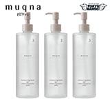 〈muqna〉 化粧水 さっぱり 400ml 3本