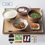 [プレミアムデリバリー] お試しセットA (米・スープ・漬物・缶詰・デザート)