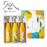 日本の極み 朝のジュース3本セット【慶事用】