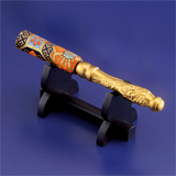 〈光則作〉純金製 りん棒(2.5寸用)