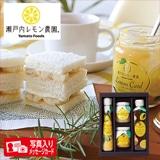 瀬戸内レモン農園 ギフトセットP 写真入りメッセージカード(有料)込