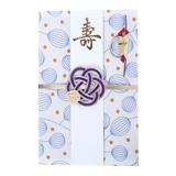 ご祝儀袋 結姫 musubime 末広(コットン)風船(白)