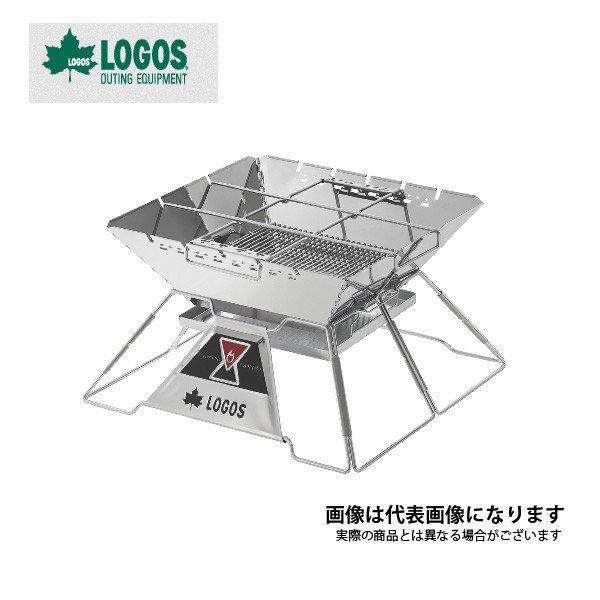 ロゴス LOGOS THE ピラミッドTAKIBI XL 81064161 焚き火台 折りたたみ式 焚火台