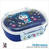 抗菌ふわっとタイトランチボックス小判 I'm Doraemon ぬいぐるみいっぱい