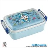 抗菌ふわっとタイトランチボックス角形 I'm Doraemon ぬいぐるみいっぱい