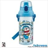 食洗機対応直飲プラワンタッチクリアボトル I'm Doraemon ぬいぐるみいっぱい