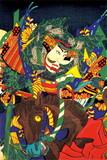 JXCD−069クリアフォルダカード 馬と侍