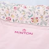 ミントン シルク混肌掛けふとん ピンク