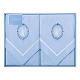 ウェッジウッド 綿毛布2枚セット