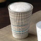 日本の極み 京焼・清水焼 練り込みビアカップ