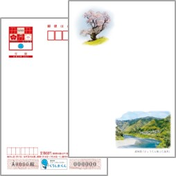 2021年用年賀はがき 絵入り[寄付金付]高知県版(10枚セット)